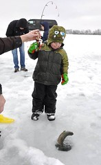 Kids Ice Fishing Event at Genoa National Fish Hatchery (USFWS Fish and Aquatic Conservation) Tags: ice wisconsin youth outdoors kid fishing pond education stock genoa service derby outreach rainbowtrout hatchery recreational nationalfishhatchery fishandaquaticconservation