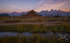Moulton Ranch Cabins Sunrise (Mike Ver Sprill - Milky Way Mike) Tags: travel sunset nature water beautiful grass sunrise landscape countryside amazing stream farm gorgeous country wideangle wallart roadtrip explore yellowstone wyoming prairie np grandtetons rancher homedecor jacksonhole historicdistrict mountainrange grandtetonnationalpark mormonrow 1424 greatphotography bestphotographerever hikewithmike nikond800 fineartamerica michaelversprill mikeversprill moultonranchcabins milkywaymike petlikstyle moultonranchbarn
