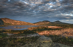 Rondane national park (A.Husvaer) Tags: mountain nature norway rock fuji hiking rondane ex1