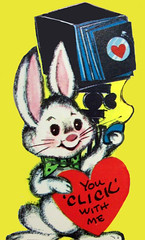 Bunny Photographer (DewCon) Tags: valentinesday valentinescard