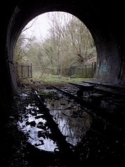 Dudley Tunnel Reflections (Jason_Hood) Tags: disused abandoned railway railroad southstaffordshireline southstaffordshirerailway dudleytunnel tunnel dudley