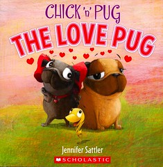 The Love Pug (Vernon Barford School Library) Tags: new fiction friends dog pet pets chicken dogs birds reading book high friendship jennifer library libraries humor reads pug books humour chick read paperback cover junior novel covers bookcover middle neighbors neighbours vernon roosters recent bookcovers paperbacks novels fictional picturebooks barford softcover sattler lovepug vernonbarford softcovers picturebooksforchildren jennifersattler 9780545949484