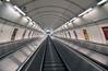 Up or Down? (svenwerk) Tags: stairs metro escalator prag symmetry treppe ubahn escaleras escheresque rolltreppe symmetrie