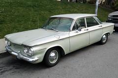 Chevrolet Corvair Four-Door (Ian E. Abbott) Tags: chevrolet chevy classiccars chevroletcorvair corvair americancars 1960scars chevroletcorvairfourdoor chevroletcorvair4door
