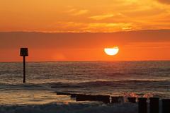 Stray Sunrise (dave.pix2013) Tags: sunrise groyne redcarstray canon1100d
