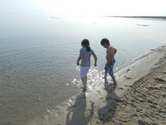 Going swimming at Long Point August 2015 14 (cambridgebayweather) Tags: swimming nunavut cambridgebay arcticocean susansim
