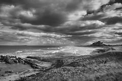 Bamburgh Castle, Northumberland. (saltholme) Tags: bamburghcastle nu176357