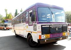 MSRTC AL Hirkani Spotted at Kolhapur CBS (gouravshinde94) Tags: bus buses ashok ratnagiri kolhapur leyalnd asaid hirkani msrtc