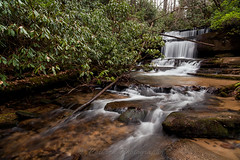Winter Day at Crow Creek (John Cothron) Tags: longexposure winter usa mountain cold nature water rock digital georgia landscape morninglight us waterfall cloudy outdoor unitedstatesofamerica scenic overcast falling deadtree flowing thesouth dixie ze cpl diffuse crowcreek rabuncounty americansouth lakemont southernregion circularpolarizingfilter crowcreekfalls 35mmformat crowmountain johncothron canoneos5dmkii distagont2821 southatlanticstates crowcreekroad cothronphotography zeissdistagont21mm28ze oakeymountain johncothron img12392160220 winterdayatcrowcreek