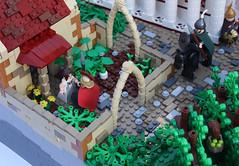 A Classical Greek Polis (Garden) (Simon S.) Tags: city garden greek temple oracle vineyard ancient theater lego bricks troja homer polis sheperd moc herder trireme eurobricks