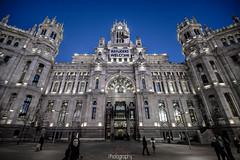 DSC_3921(w) (photodkx) Tags: madrid building night lights noche cibeles