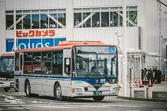 MITSUBISHI FUSO Aero Star_QKG-MP38FM_Niigata200Ka959 (hans-johnson) Tags: winter bus japan canon eos transport transportation transit niigata fullframe fuso  mitsubishi chuo    aerostar   kotsu nonstep  mp38  shinetsu  5dmkiii 5dmk3 lowentry 5d3   5diii mp38fm