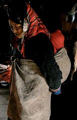 Akha Pixo mother and baby (Laura Jacobsen) Tags: laos hilltribe akha phongsaly phongsali