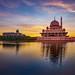 Masjid Putrajaya... sunrise