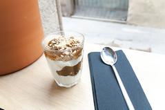 Barcelona IV (mari-chan.) Tags: barcelona breakfast healthy cinnamon spoon yoghurt nutmeg cardamom muesli satanscoffee