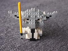 """Lego"" for grown-ups (schroettner) Tags: starwars yoda lego loz gearbest"