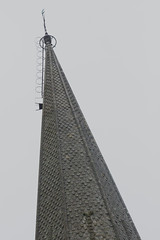 Church spire with crescent moon (sndgrss) Tags: church christian cathederal symbols chartres symbolism
