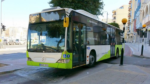 Public Transport Malta (PTM) bus