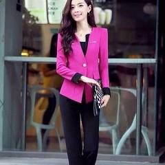 ชุดสูททำงาน แฟชั่นเกาหลีผู้หญิงกางเกงสวย3ชิ้นหรู นำเข้าไซส์Sถึง3XL พรีออเดอร์SJ1348 ราคา3000บาท ชุดสูททำงาน แบบชุดสูทกางเกงสวยหรูหรางานคุณภาพระดับพรีเมี่ยมเกรดขึ้นห้าง ด้วยชุดสูททำงานผู้หญิงมี3ชิ้นประกอบด้วยเสื้อสูทแฟชั่นแขนยาวคอวี กางเกงทำงานแฟชั่น เข้าช