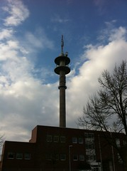 Fernmeldeturm Rheine (The Adventure of Link) Tags: analog tv 10 fernsehturm vox funkturm fernsehen rheine fernmeldeturm sendeturm fmt umsetzer typenturm analoges