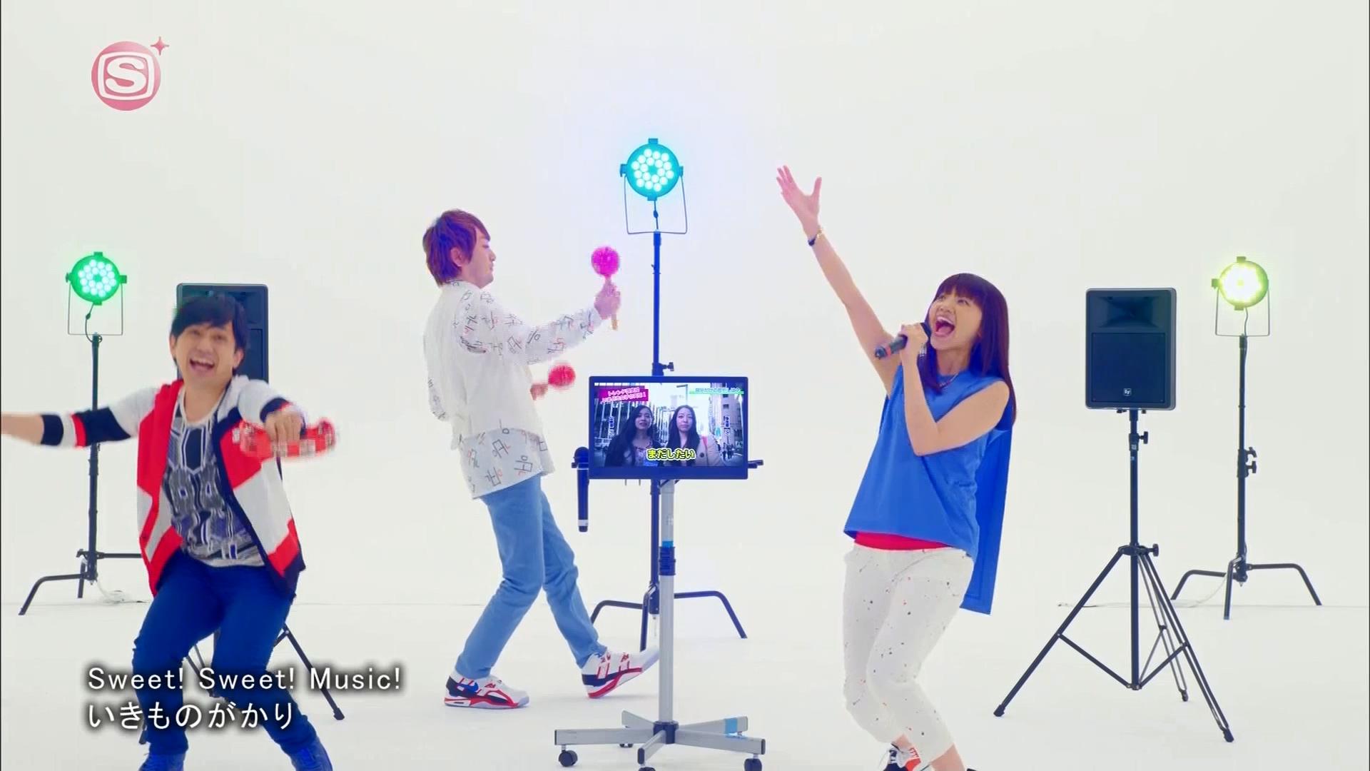 2016.03.16 いきものがかり - Sweet! Sweet! Music!(SSTVPlus).ts_20160316_230517.295