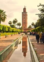 La Koutoubia Minaret (77 metres high) (GVG Imaging) Tags: minaret marrakech lakoutoubia
