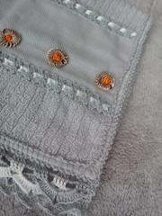 Toalha de lavabo bordada (Magia dos Fios) Tags: toalha banho rosto cassa enxoval toalhadelavabo toalhabordada