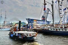 Hanse Sail 2015 (victorlaszlo73) Tags: port cloudy harbour sunny hafen sonnig rostock hansesail wolkig mecklenburgvorpommern