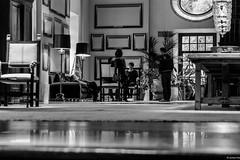 sobre lo absurdo de las mentiras (eMecHe) Tags: espaa blancoynegro arquitectura asturias bn biblioteca turismo cumpleaos cuadros blanconegro juana lamparas parador corias desdeelsuelo
