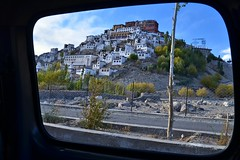 Thiksay Monastery (Gompa)..... In Frame (pallab seth) Tags: city travel panorama india mountain tourism landscape asia tour monastery valley layers leh himalayas thikse highaltitude gompa jammuandkashmir indusvalley thiksay thikseygompa
