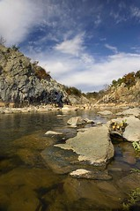 Water and Stones (Pavel K) Tags: landscape nikon outdoor potomac 2009 nikond700