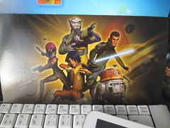 Star Wars Rebels postcard (snive85) Tags: germany chopper postcrossing card swap ezra sabine zeb hera kanan