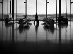 Airport (akarakoc) Tags: white black monochrome fuji fujifilm x100t