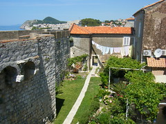 Dubrovnik Croatia inside the city walls, garden, washing line (rossendale2016) Tags: city garden croatia line clothes hanging inside walls dubrovnik washing