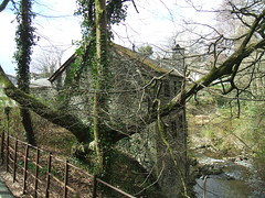 Stock Ghyll Ambleside in the Lake District. (Bennydorm) Tags: greatbritain england house building home water rural river countryside spring stream rustic lakedistrict scenic ivy cumbria april picturesque ambleside dwelling tributary southlakeland
