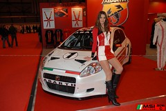 Sexy Fiat Abarth promo model at Autosport 000  (5) (MSI Ireland) Tags: uk hot sexy umbrella automobile pretty gorgeous awesome special hotbabe hottie hotbabes supercar sexylegs sportscars autosport gridgirls prettyface umbrellagirl supersports gridgirl sexyblonde girlsinboots autosportinternational promobabe promobabes sexypromogirl girlsinlycra