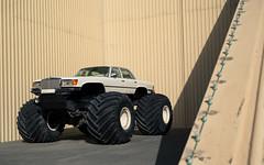 Monster Merc. (Alex Penfold) Tags: cars alex monster truck mercedes 4x4 autos abu dhabi monstertruck lifted penfold 2016