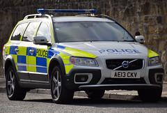 AE13CKV (Cobalt271) Tags: proud volvo police northumbria to d5 protect livery arv xc70 ae13ckv