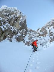 Winter climbing (mikeknowles60) Tags: snow wales canon handheld snowdonia iceclimbing winterlandscape canonixus glyderfach winterclimbing