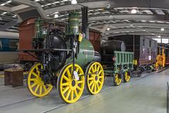 Replica of 'Sans Pareil' (Ronald_H) Tags: uk museum train vintage nikon engine railway steam national locomotive locomotion sans 2016 d600 shildon pareil