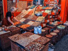 La Boqueria (J Wells S) Tags: barcelona fruits vegetables spain nuts catalonia laboqueria publicmarket lesrambles themercatdesantjosepdelaboqueria theciutatvelladistrict