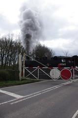 IMGP9891 (Steve Guess) Tags: uk england usa train kent crossing tank railway loco steam level gb locomotive bodiam eastsussex tenterden 30065 060t