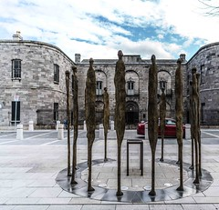 PROCLAMATION BY ROWAN GILLESPIE [ACROSS THE STREET FROM KILMAINHAM GAOL]-113740 (infomatique) Tags: sculpture irishhistory touristattraction proclamation easterrising rowangillespie williammurphy infomatique 1916rebellion zozimuz remember1916 kilmainhanmgaol