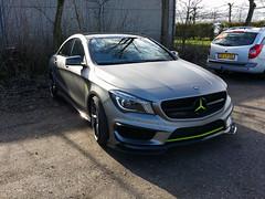 Mercedes-Benz CLA 45 AMG C117 (Alessandro_059) Tags: grey 45 mercedesbenz satin amg cla 2016 c117 borderrun