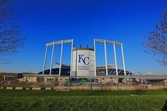 Let's Go Royals (KC Mike D.) Tags: world k ball major spring baseball stadium bat professional kansascity series kc league champions ewing worldseries mlb royals kauffmanstadium kauffman