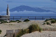 Beach of Tarifa Spain (Addict kite school Tarifa) Tags: beach clouds landscape boat spain harbour south marocco tarifa tankers