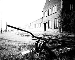 One.. (Arjan Grendelman) Tags: city blackwhite track nederland deventer voigtlanderultron21mm18 lightroom44 arjangrendelman