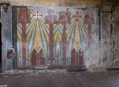 ehem. Kapelle St. Josefsheim (wpt1967) Tags: church wand kirche kirke schwalmtal bemalung lostplaces kentschool tokina1116mm waldnielhostert eos60d wpt1967 stjosefsheimderfranziskaner