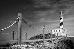 Faro de Favaritx (Miguel A. Garc) Tags: blackandwhite lighthouse blancoynegro nikon menorca baleares balearicislands balears favaritx nikond600 nikonista farodefavaritx