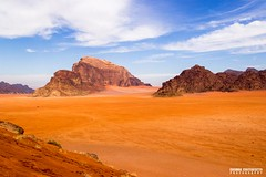 Wadi Rum, Jordan - Landscape photography (carmine.contrafatto) Tags: travel sky orange clouds landscape photography colours desert wadirum traveller adventure jordan paesaggi giordania    canon600d